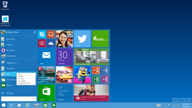 Ten Things We Know About Windows 10