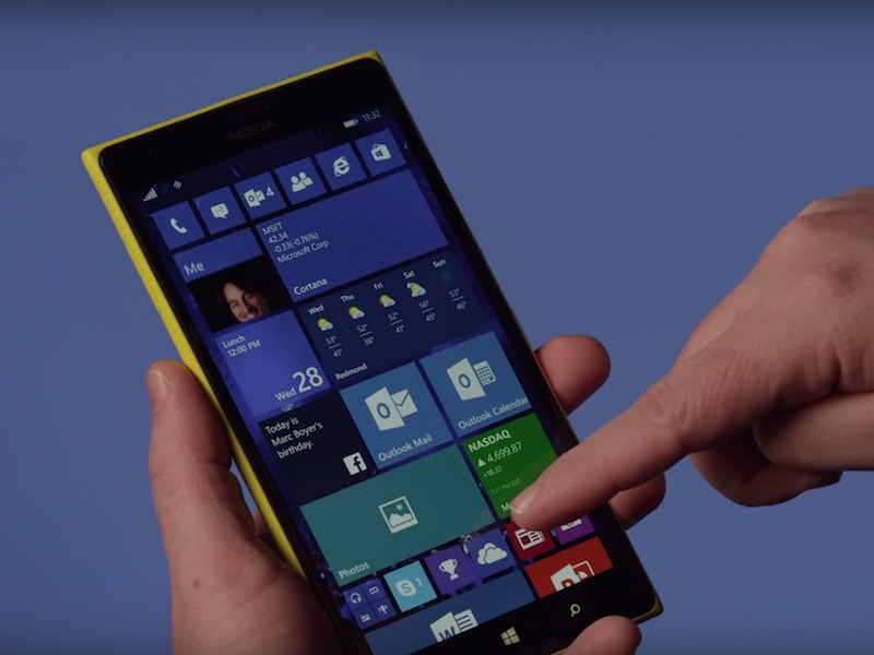 No Windows 10 Mobile for Phones With Less Than 8GB Internal Storage