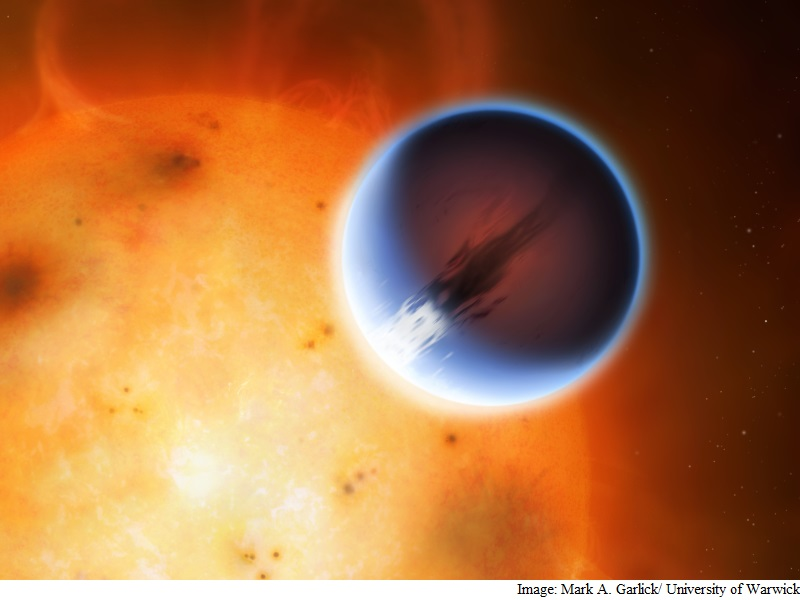 Astronomers Measure Wind Speeds of 8,690Kmph on Exoplanet
