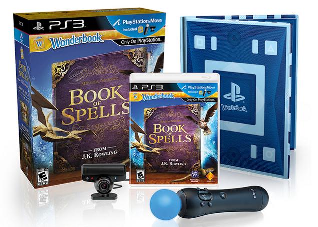 Wonderbook book of spells game