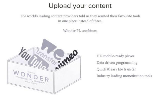 'Wonder' video platform to take on YouTube and Vimeo