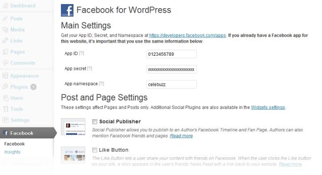 Facebook releases social plugin for Wordpress