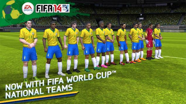 Seven Games to Recreate the Fifa World Cup 2014 Action