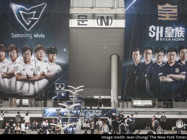 For South Korea, E-Sports Is National Pastime