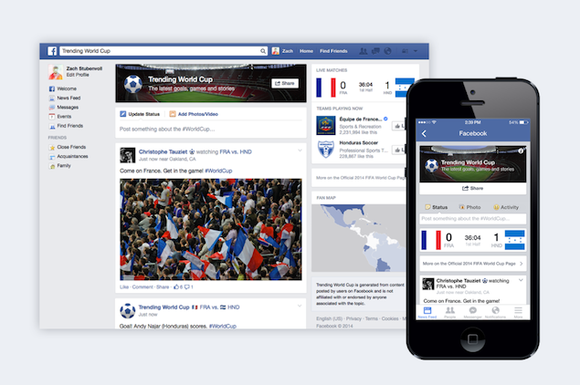 Track All the Fifa World Cup 2014 Action With Google, Twitter, and Facebook