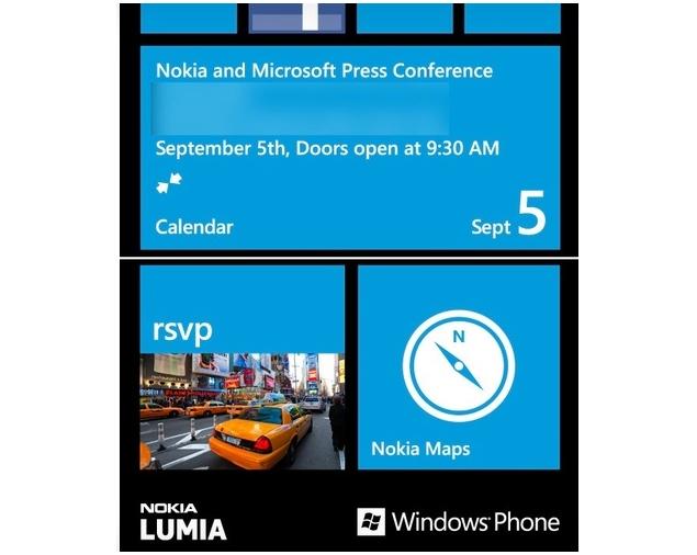 Nokia, Microsoft hosting Windows Phone 8 event on Sep 5