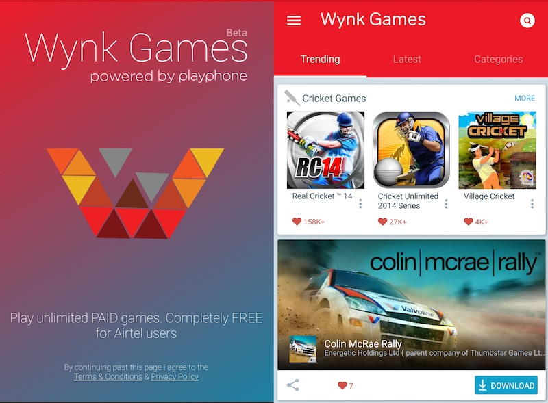 Airtel Wynk Games Subscription Service Launched With Over 2,000 Titles