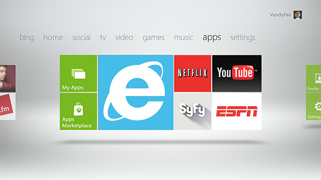 Xbox 360 dashboard update announced, brings Internet Explorer, Xbox Video and more
