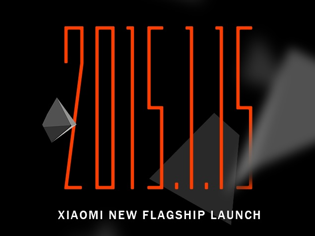 Xiaomi Mi 5 Flagship Launch Expected at January 15 Event in Beijing