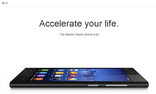 Xiaomi Mi 3 Exclusivity Teased by Flipkart Ahead of Tuesday's Launch