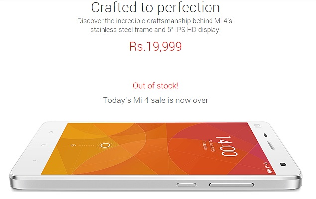 Xiaomi Cracks Down on Profiteers With Second Mi 4 Flash Sale