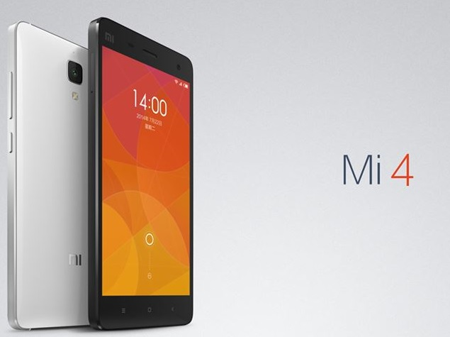 Xiaomi Mi 4 India Launch Set for January 28