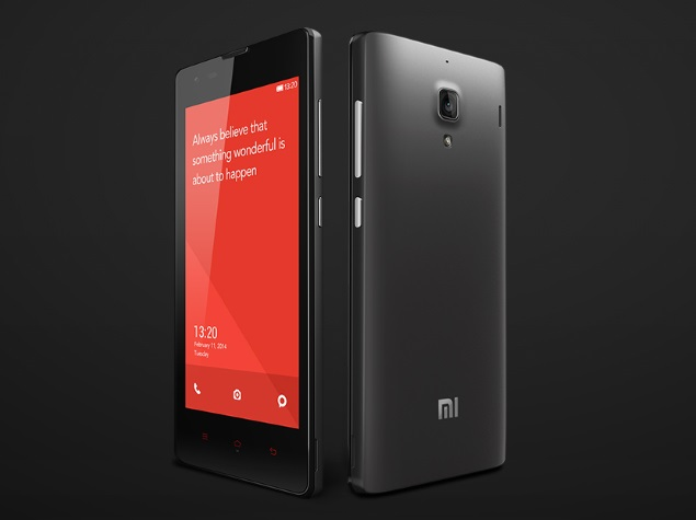 Xiaomi Redmi 1S Goes on Sale for Flipkart First Subscribers on Monday
