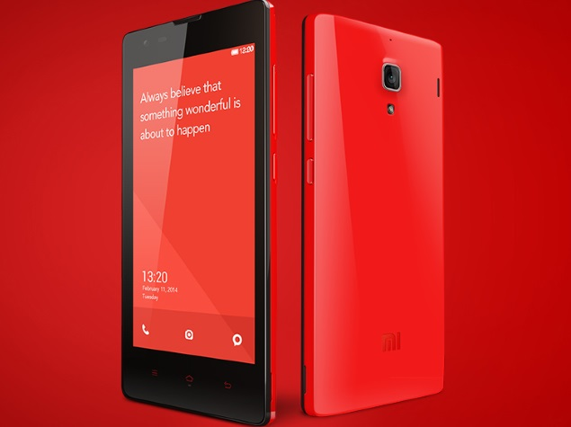 Xiaomi Redmi 1S to Go on Sale Possibly for 'Last Time' on Tuesday
