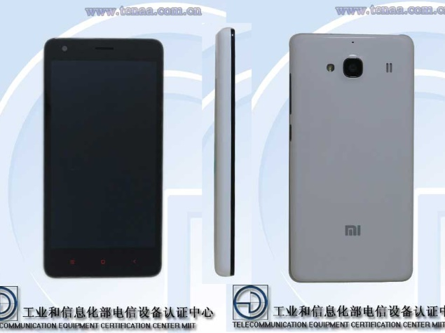 Xiaomi Redmi 1S Successor Spotted on Certification Site With 4G LTE