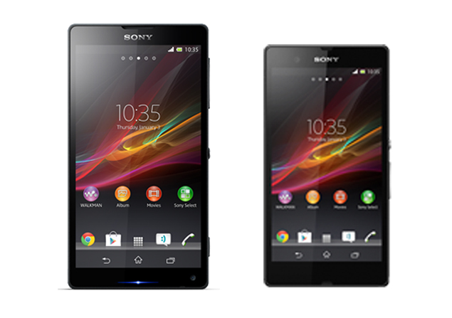 Xperia Z and Xperia ZL images leaked via Sony official website