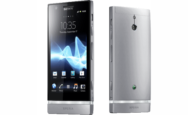 Sony starts rolling out ICS update for Xperia P