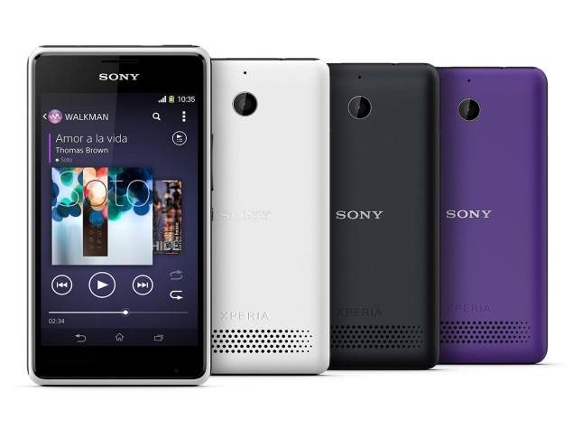 Sony Xperia E1 and Xperia E1 Dual with Android 4.3 launched in India