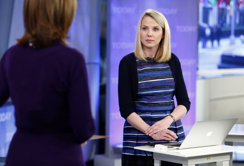 Yahoo CEO Paints Bright Picture With Potential Sale Looming
