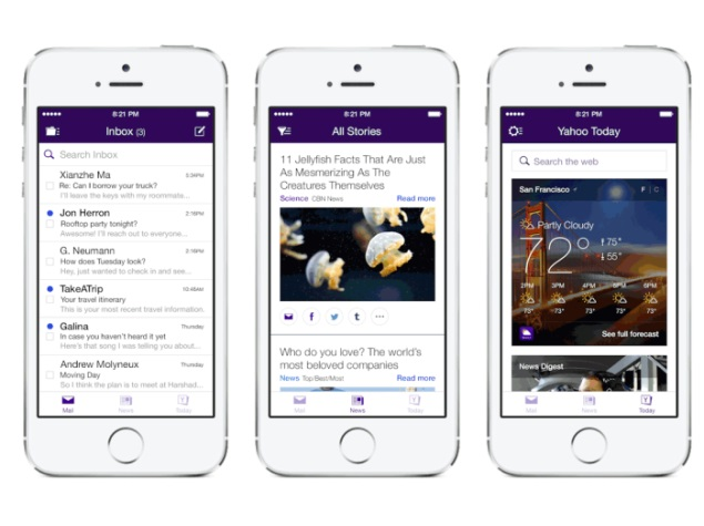 Yahoo Mail app for iPhone and iPod touch revamped with personalised UI