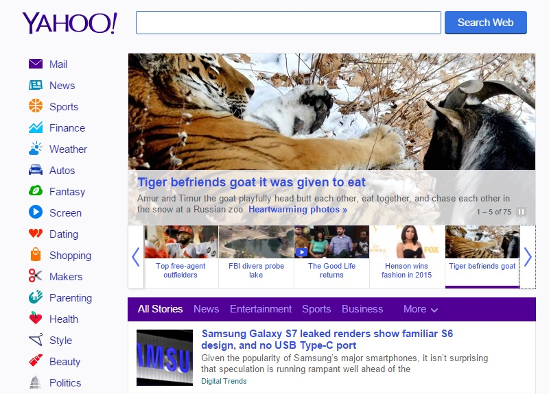 Yahoo's Homepage: A Stark Illustration of a Company That Can't Get Its Act Together