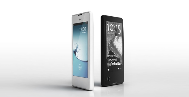 Russia's YotaPhone double-sided Android E-Ink smartphone starts shipping