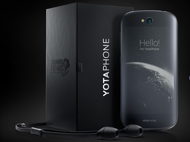 YotaPhone 2 Dual-Screen Smartphone Pricing and Availability Revealed