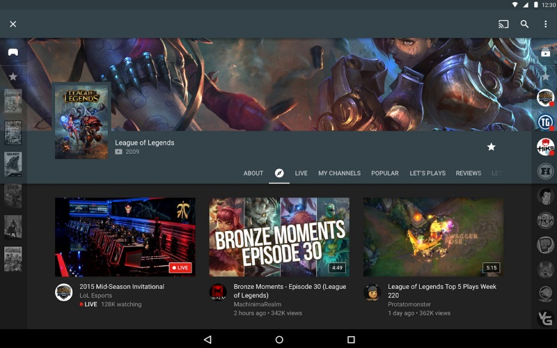 YouTube Gaming Launched; Android and iOS Apps to Roll Out Gradually