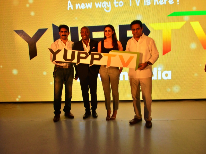YuppTV Streaming Service Launched in India