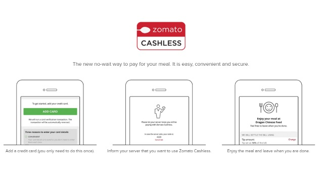 Zomato Rolls Out Cashless Restaurant Payments in Dubai