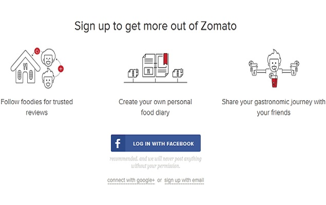 Zomato flip flops on mandatory logins