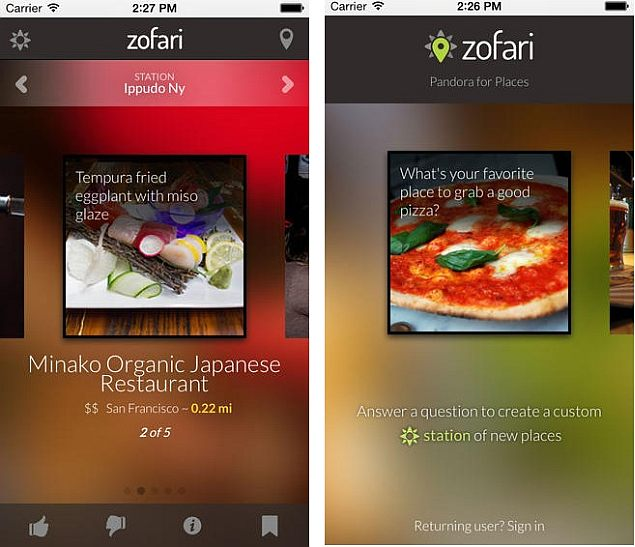 Yahoo Buys Place Recommendation App Zofari to Bolster Local Search