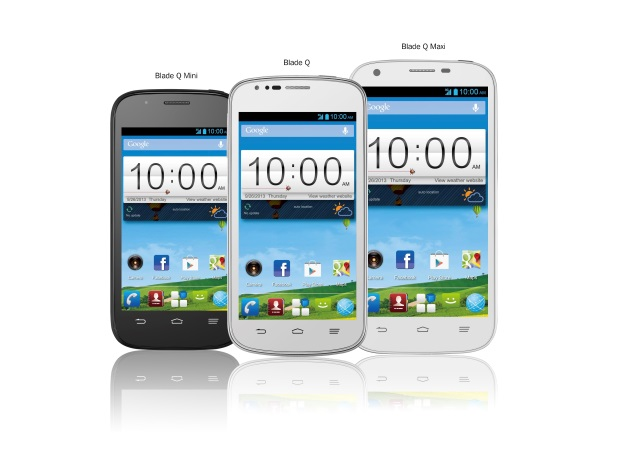 ZTE Blade Q, Blade Q Mini and Blade Q Maxi with Android 4.2 launched