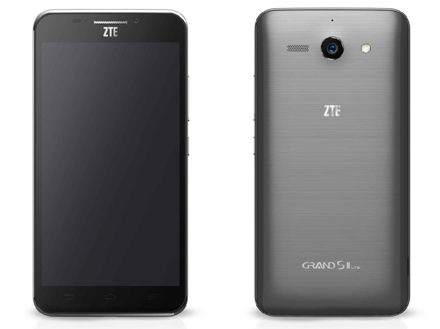 ZTE Grand S II with 5.5-inch full-HD display, Snapdragon 800 launched