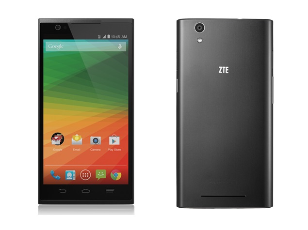 ZTE ZMax With 5.7-Inch HD Display, Android 4.4 KitKat Launched