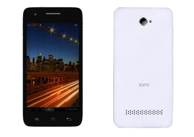 Zync Cloud Z401 budget Android 2.3 smartphone launched at Rs. 4,499