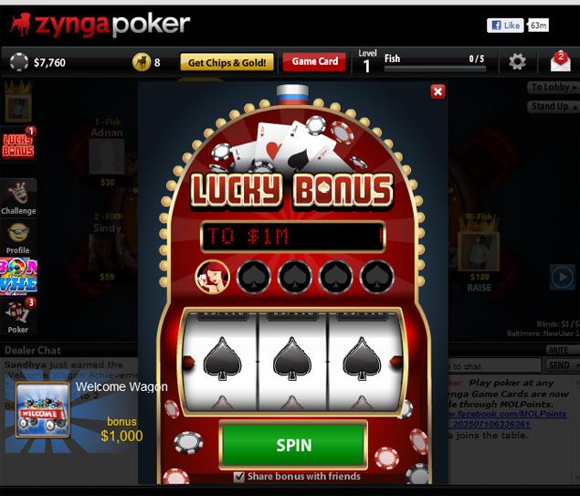 Slot machine zynga poker card game 15 2