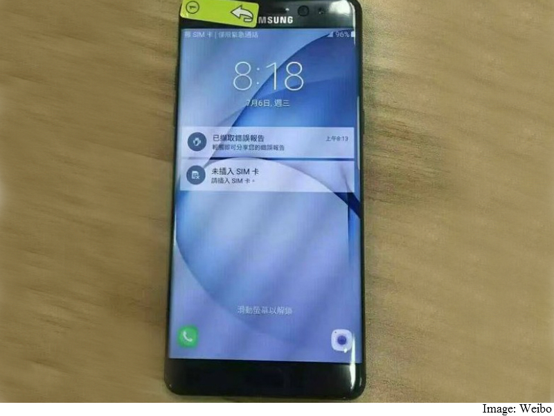 Samsung Galaxy Note7 Tipped Be Water Resistant, Sport Dual-Edge Display