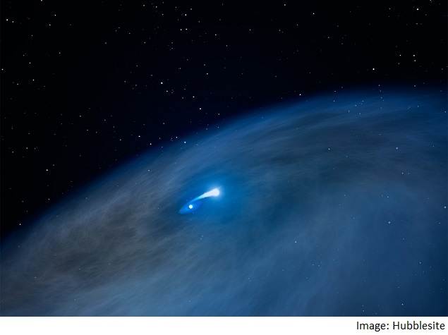 Nasa's Hubble Telescope Finds 'Nasty' Star in Milky Way ...