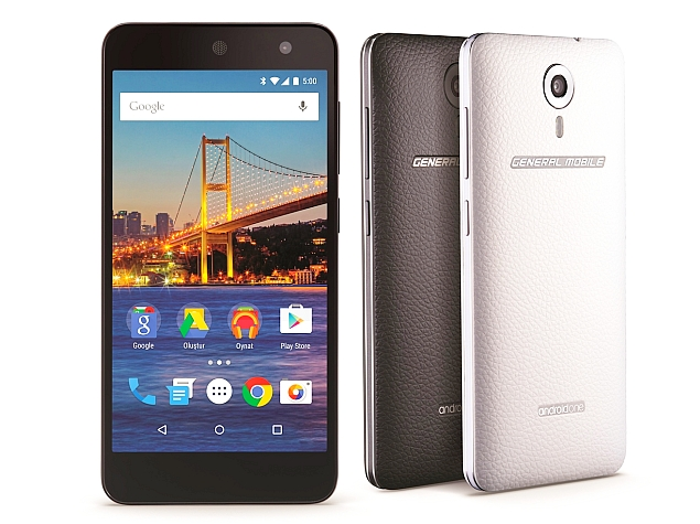 Android One Initiative Reaches Turkey With General Mobile 4G Smartphone