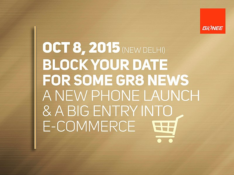 Gionee Elife E8 India Launch Set for Thursday