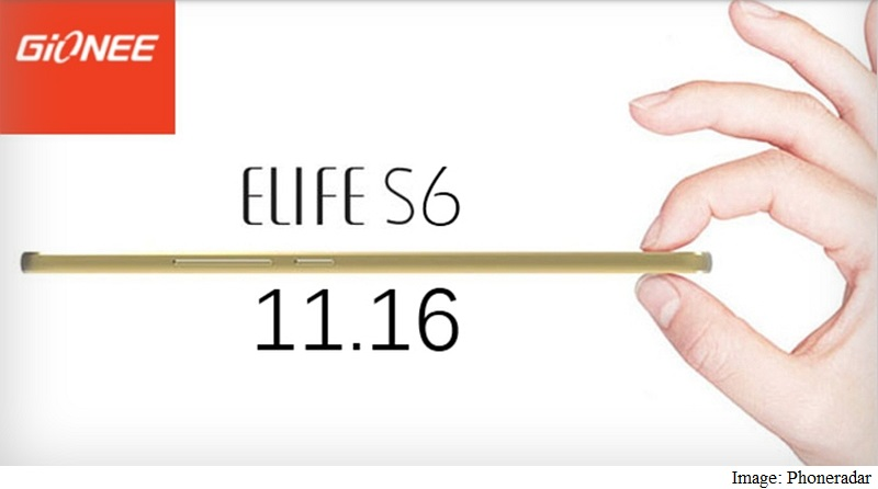 Gionee Elife S6 Set to Launch at November 16 Event