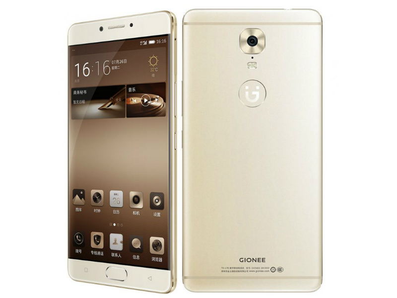 Gionee M6, M6 Plus With Data Encryption Chip, Massive Batteries Launched