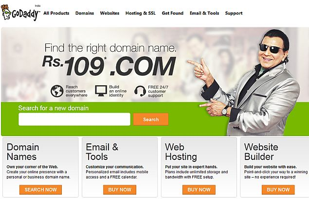 GoDaddy Files for IPO of up to $100 Million