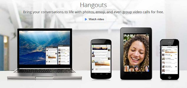 Google announces unified messaging service Hangouts, launches iOS, Android and Chrome apps