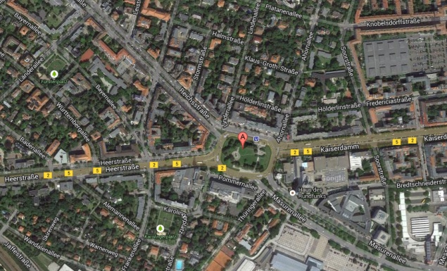 Map Of Germany Google.Maps Google Germany
