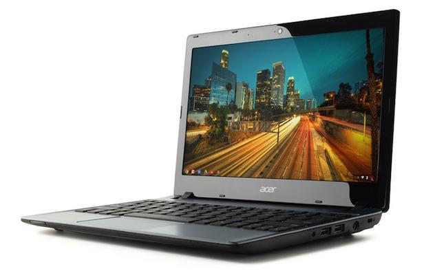 Google, Acer unveil $199 C7 Chromebook laptop