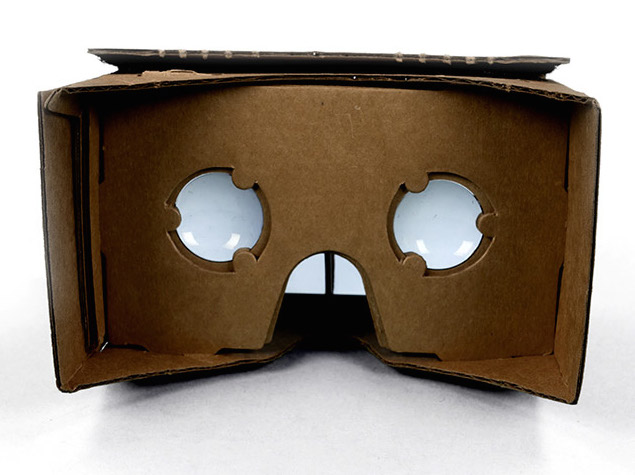Cardboard is an Inexpensive DIY VR Headset by Google