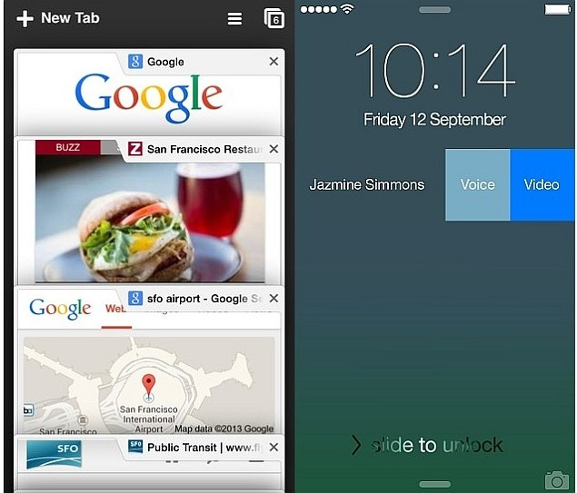 Chrome Adds Support for iOS 8 Extensions