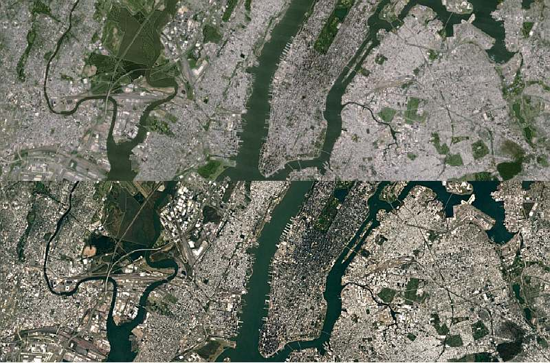 Google Earth, Maps Get Sharper Satellite Imagery | Technology News